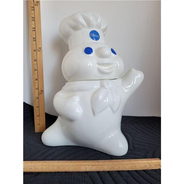 Ceramic Pillsbury Dough Boy cookie jar.