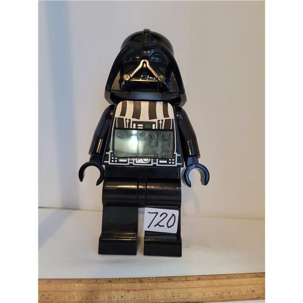 Star Wars Darth Vador, light up alarm clock.