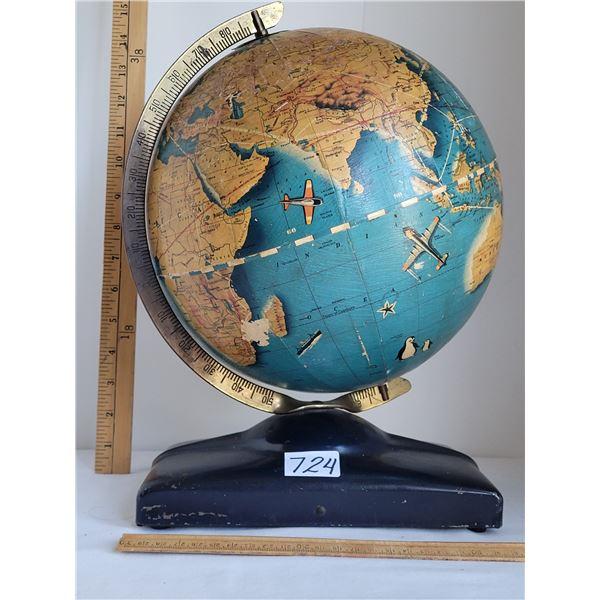 Hard to find 1946 Wonder World simplified Globe.