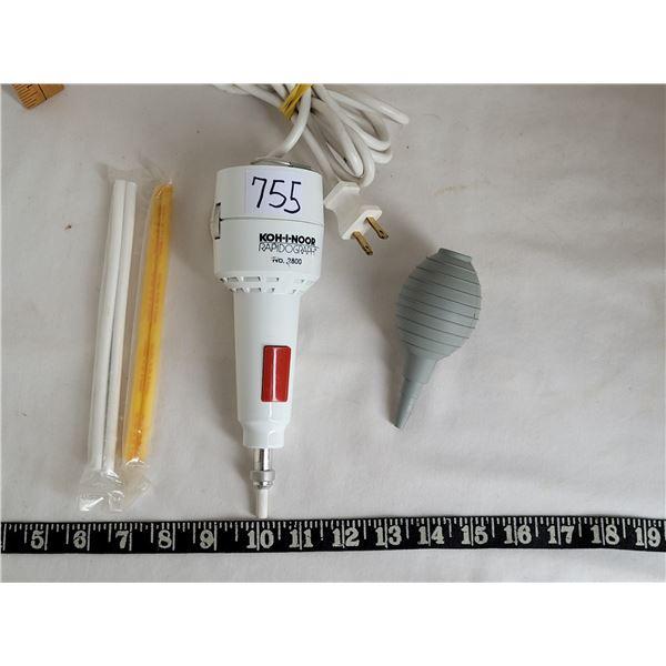 Engineers electric eraser KOH-I-NOOR Rapidogragh 2800