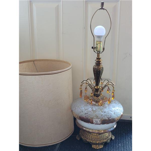 Vintage EK1972 Tri-light lamp. Light top, bottom, or both. SEE photos