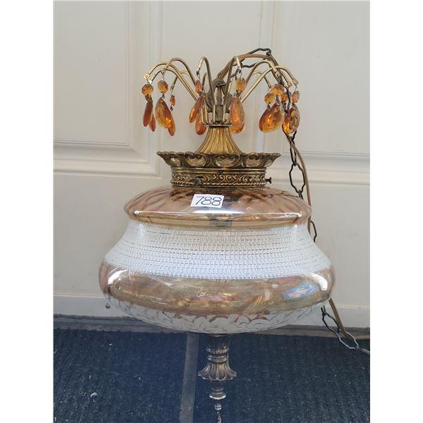 Vintage matching swag lamp to #787