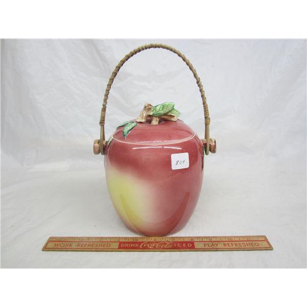 Apple Cookie Jar good condition