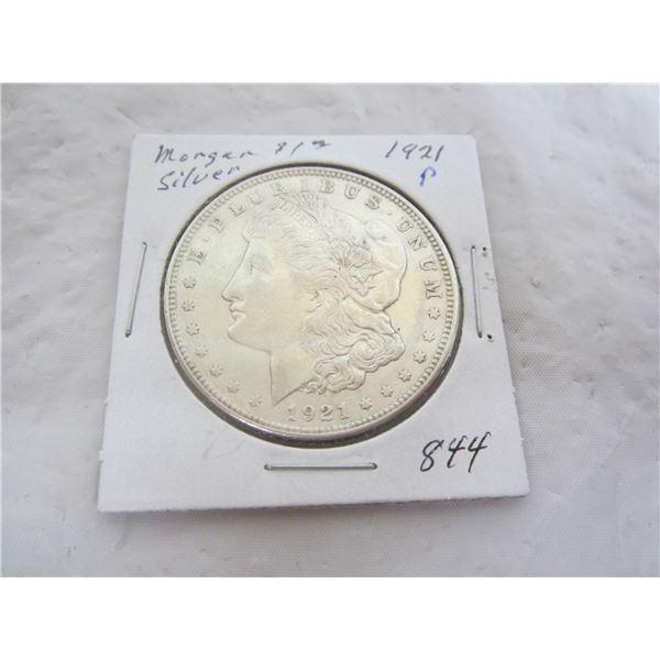 Morgan Silver Dollar 1921 P