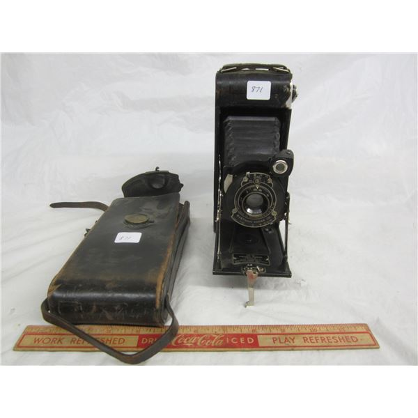 Kodak No. 1 Folding Camera and Case