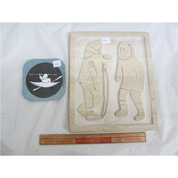 2 Pieces of Eskimo Art