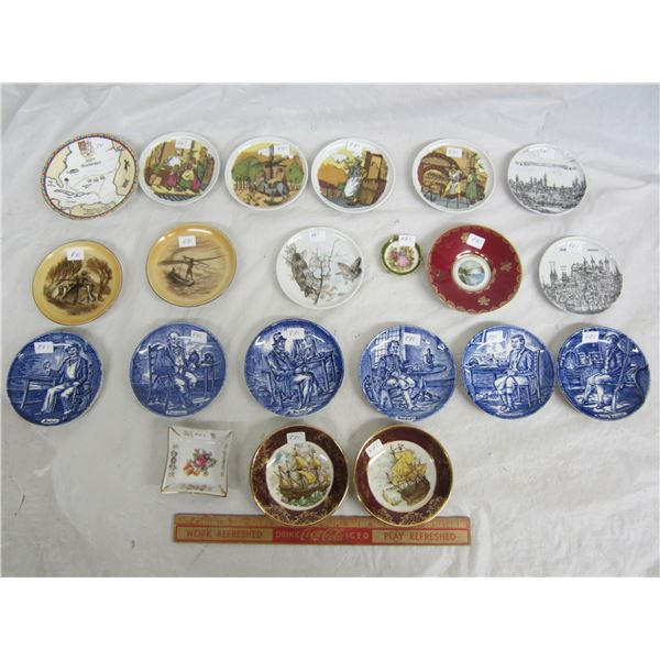 Collection of 21 Small Plates
