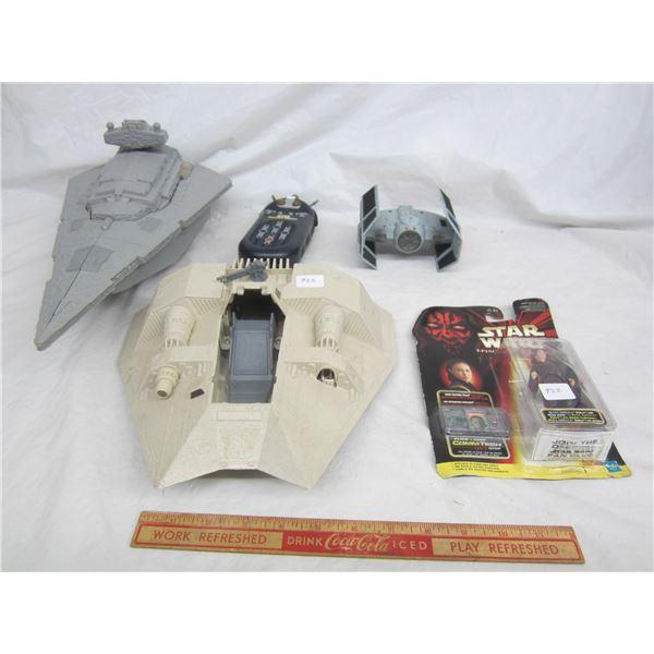 Lot of 5 Vintage Star Wars Toys