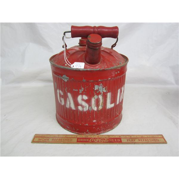 Antique Gas Can great for car display