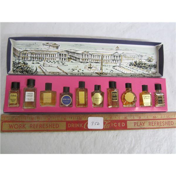 Rare Vintage French Perfume Sample Set