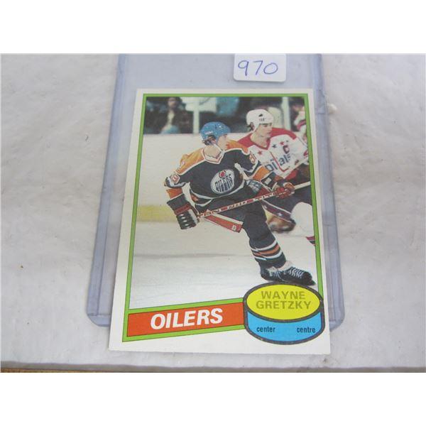 Wayne Gretsky 2nd Year Hockey Card 1980 O-Pee-Chee