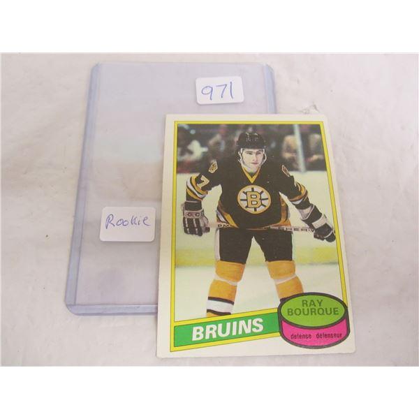 Ray Bourque Rookie Hockey Card 1980 O-Pee- Chee