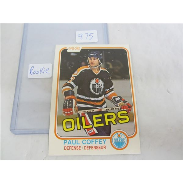 Paul Coffey Hockey Rookie Card 1981 O-Pee-Chee