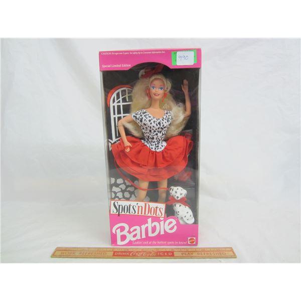 Spot'n Dot Barbie in Box 1993