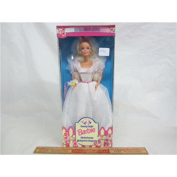 Country Bride Barbie 1994 in Box