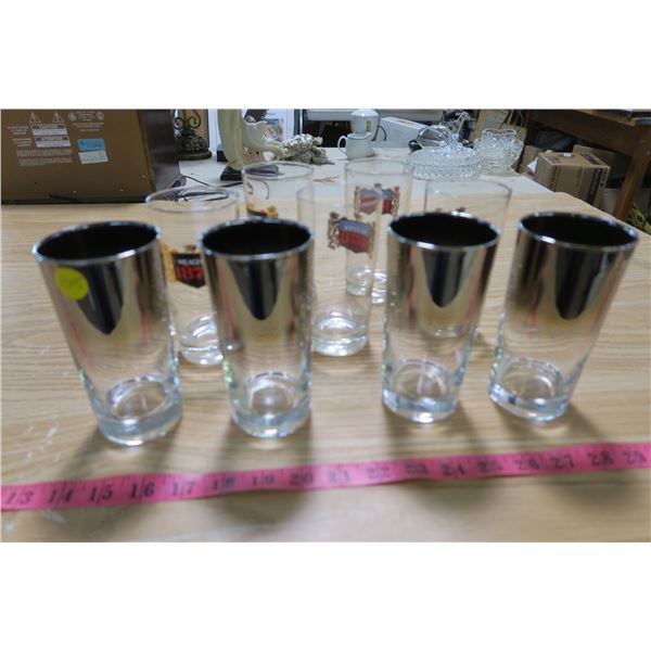 9X Beer Glasses (Meager 1878) X5