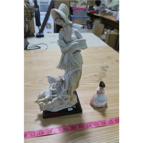 Female Statuettes - Italy and Japan