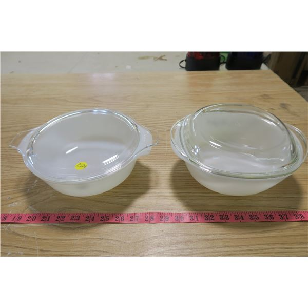 Anchor/Howking and Pyrex Dynaware - Cookware Bowls with lid