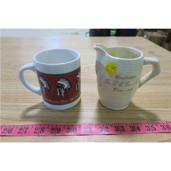 Medicine Hat Cups X2