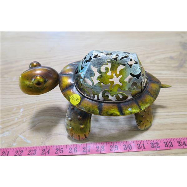 Metal Turtle Decorative Statue