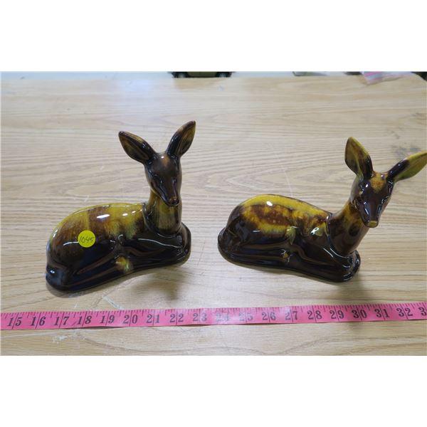 Decorative Deer Satues X2