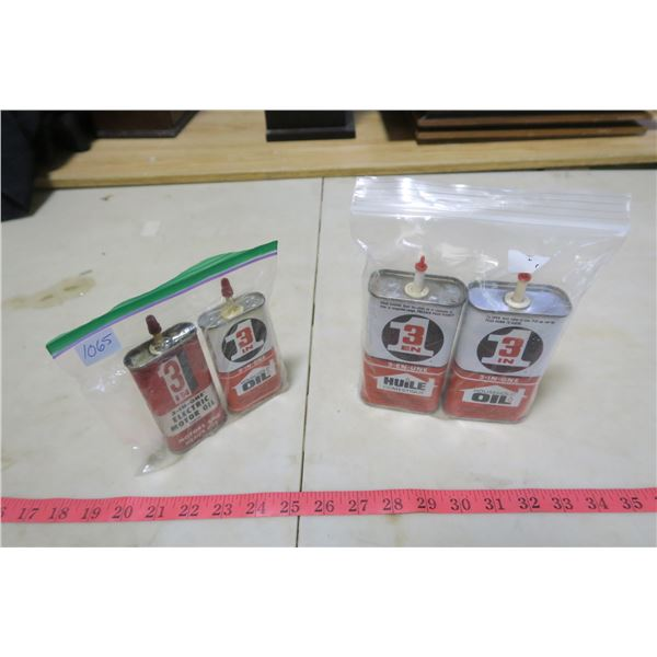 3-in-One Household Oil X3 and Electric Motor Oil X1