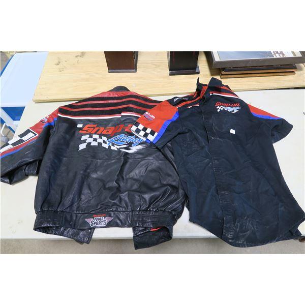 Snap-On Racing XXL Jacket and Large Shirt
