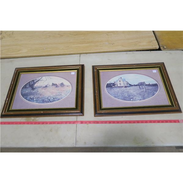 Prarie Pictures Wood Frames