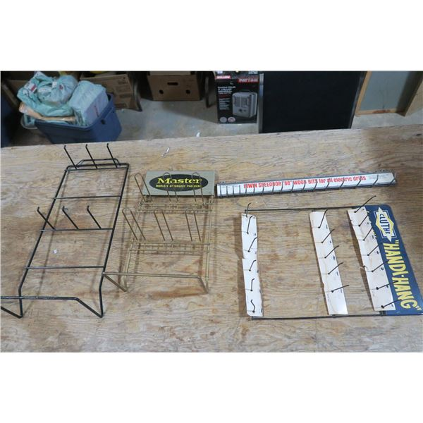 Product Display Hangers - Cluth Handy-Hang/Master and Irwin