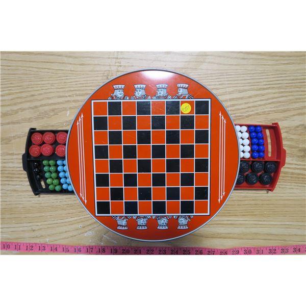 Chess/Chinese Checkers Set