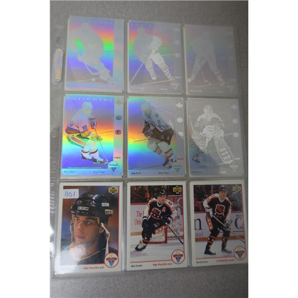 91 NHL Upper Deck/McDonalds Hockey Cards - 21 Cards and 6 Holograms