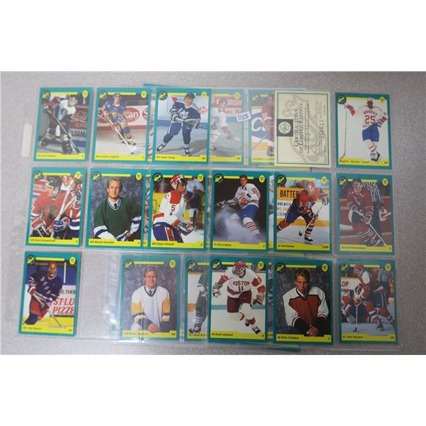 91 Premiere Classic Edition NHL Hockey Cards - 50 Cards and Certificate Card