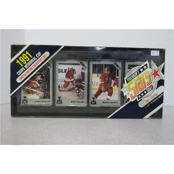 """7th InningSketch 91' Coupe Memorial Cup Hockey Card Set """"Tommorows Stars Today"""""""