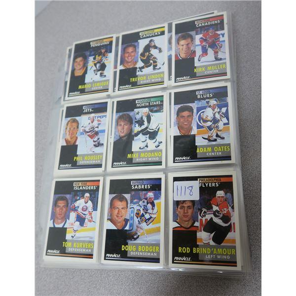 91/92 Pinnacle NHL Hockey Cards - 409 Cards (of420)
