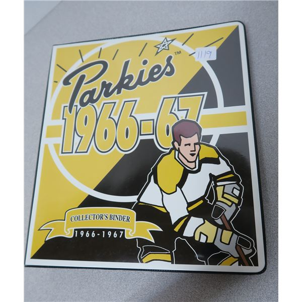 Parkies 1966-67 Collector's Binder Parkhurst Set - 150 Hockey Cards and 3 Limited Insert Packs