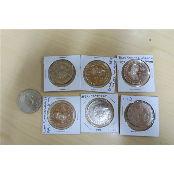 Various Coins/Tokens X7
