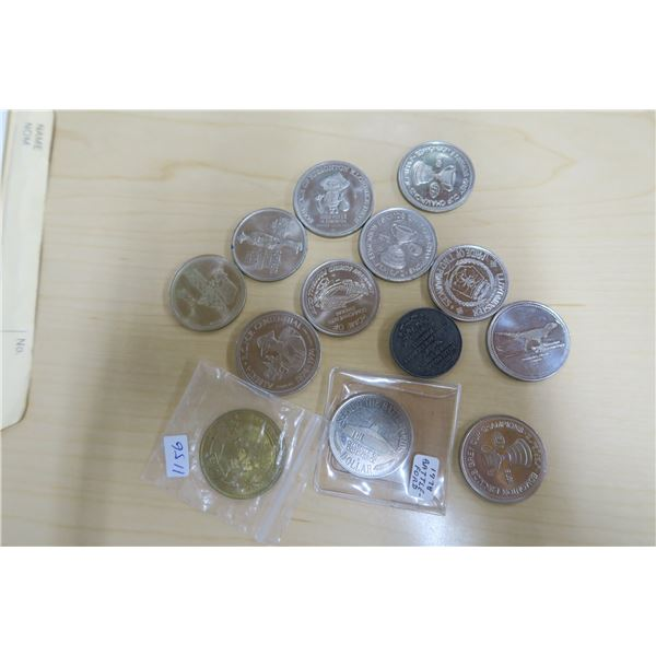 Various Coins/Tokens X9