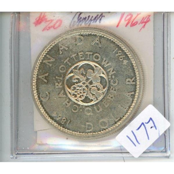 1964 Charlottetown Quebec Dollar