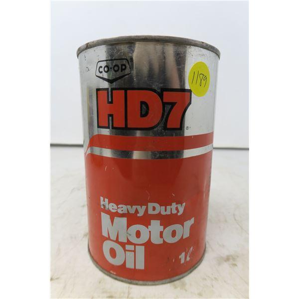 Co-op HD7 Heavy Duty Motor Oil - 1 Litre