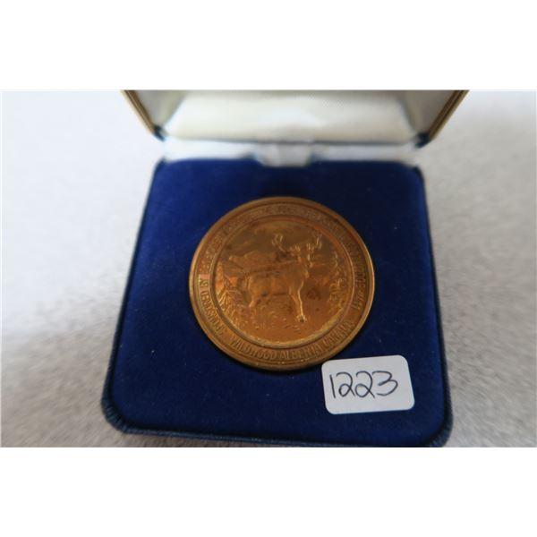 1984 Wildwood Alberta $2 Trade Coin