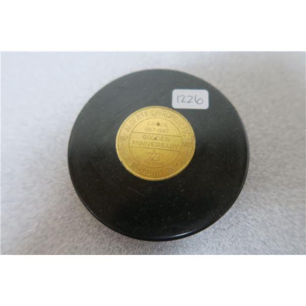 1967 Alberta Chiropractic 100th Anniversary Coin/Token