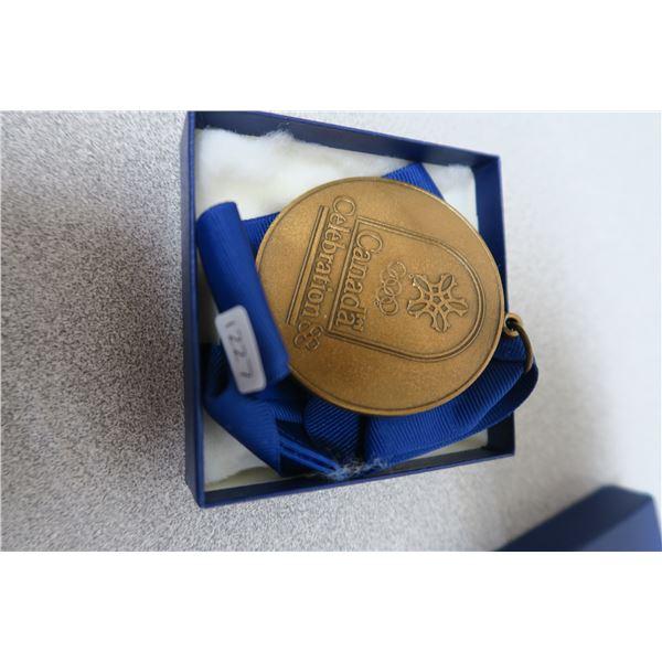 1988 Canada Celebration Bronze Medal Medallion