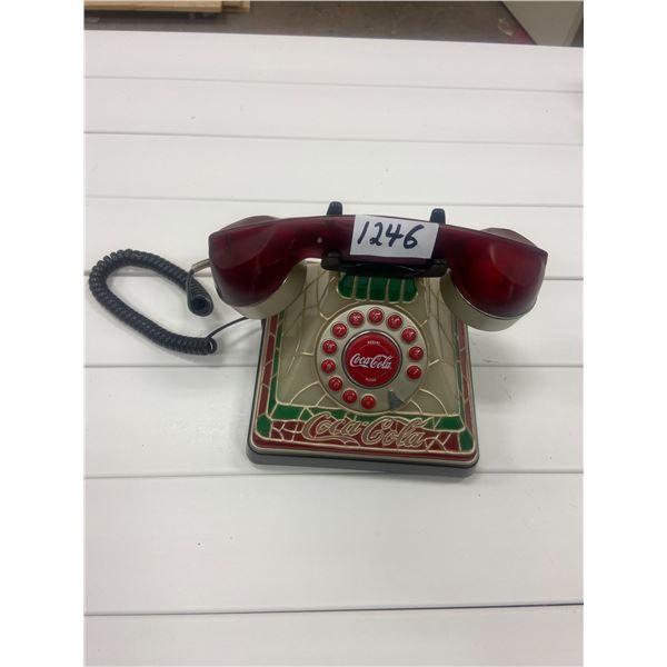 Coca-Cola telephone, desk top