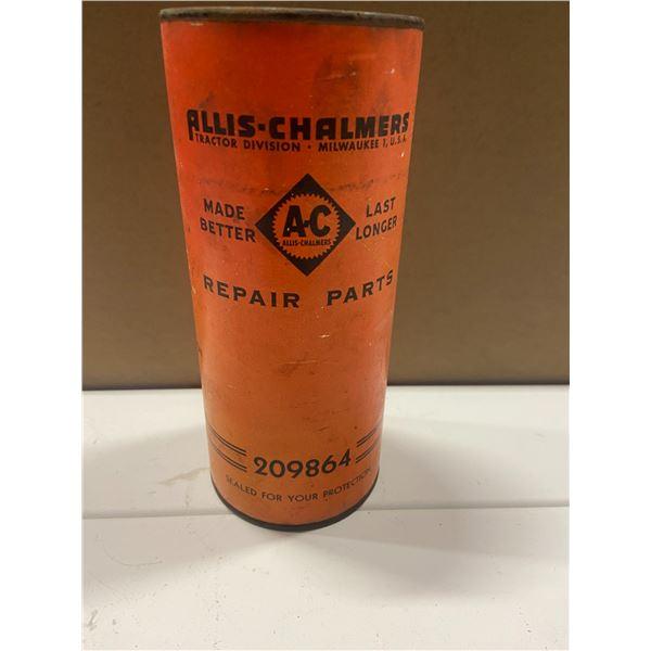 "Allis Chalmers parts tin - never opened lining kit - Brake band Model B, 1B, C, CA, 7"" tall"