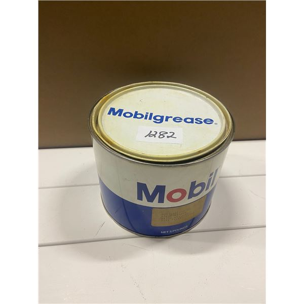 5 lb Mobil grease tin