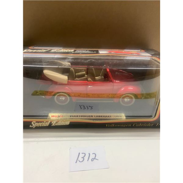 1951 VW Cabriolet Convertible 1/18 Scale