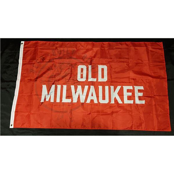 "Old Milwaukee FLAG 60""X36"""
