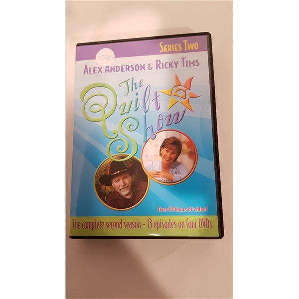 THE QUILT SHOW DVD Series 2 Set - 4 DVD 13 Episodes
