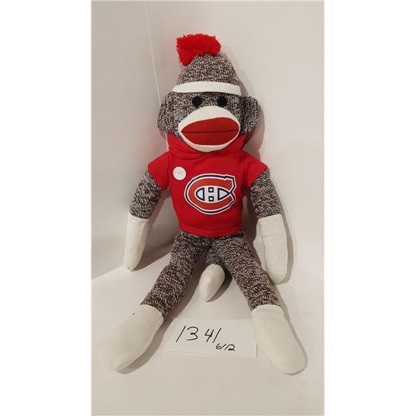 Plushland NHL MONTREAL CANADIENS Sock Monkey Doll (2013)