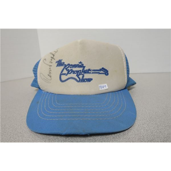 The Ronnie Prophet Show Hat - SIGNED -Medium/Large